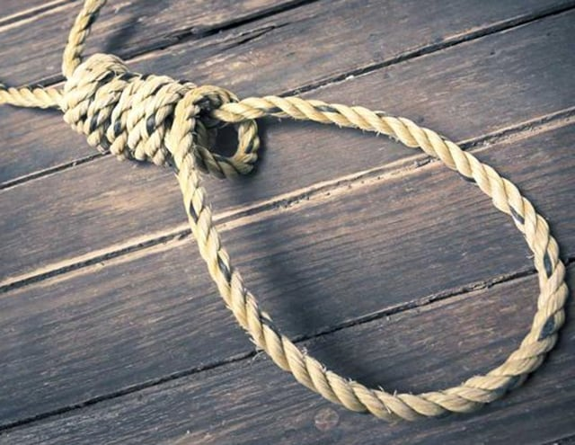 (Representative image) The Shiv Sena leader committed suicide by hanging himself with ceiling fan.