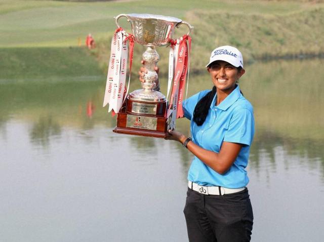 Aditi Ashok,Golf