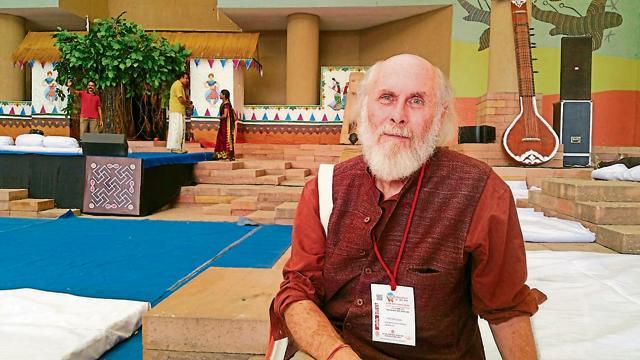 Bhopal, India - Nov 12, 2016: David Frawley in Bhopal.(File Photo)