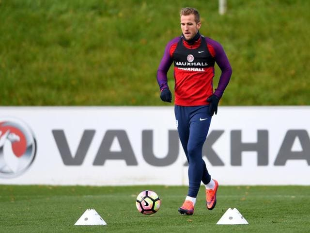 Harry Kane, who was an unused substitute in England's 3-0 defeat of Scotland, is short of match fitness.