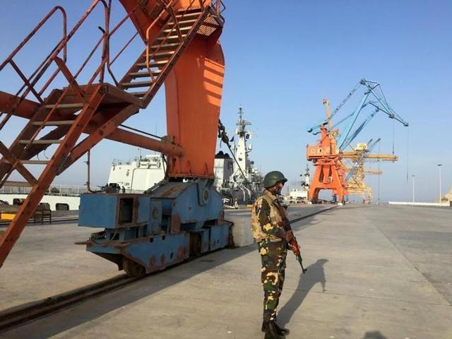 Pakistan-China trade links,Pakistan-China,Gwadar port