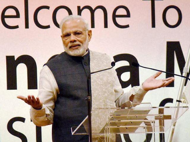PM Modi is unlikely to make any election-related announcement in his address near Panaji on Sunday, the Goa CM said.