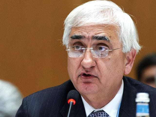 Congress leader Salman Khurshid alleged that anybody who questions the Narendra Modi government is labelled a traitor.