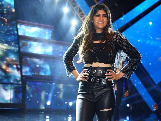 The 22-year-old, who launched her debut international single — 'Livin' the life' — at a grand event in Mumbai, says she would love to work with Shankar-Ehsaan-Loy.(Prodip Guha)