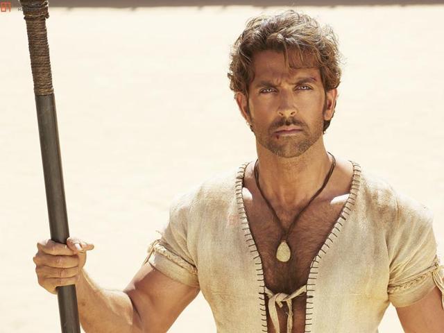 Actor Hrithik Roshan in a still from Mohenjo Daro.