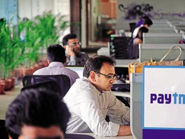 Paytm, India's largest digital payments firm, experienced a never-before surge as the wallet's daily transactions crossed five million, putting the company on the path to do over Rs 24,000 crore of transactions in the current financial year, as the company got 30% of its transactions from beyond tier-II towns.(Reuters)