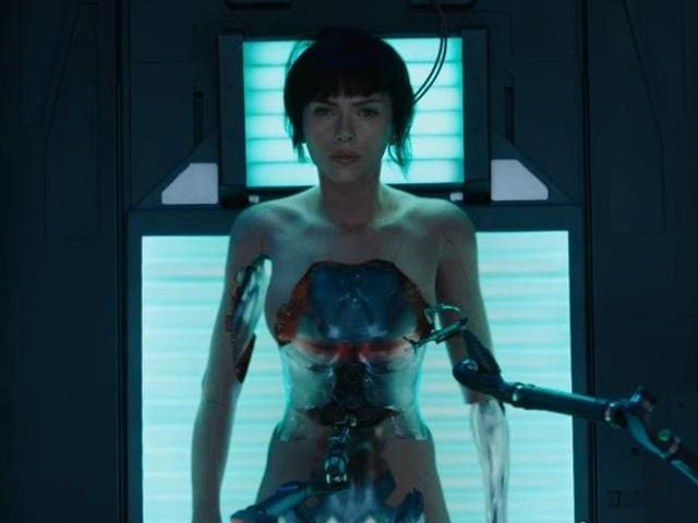 Scarlett Johansson plays a special-ops cyborg policewoman called 'The Major' in Ghost in a Shell, who leads task force Section 9 as they try to bring down an evil computer hacker.