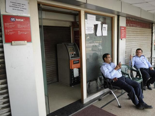 Most ATMs were emptied in hours, leaving thousands angry and frustrated.