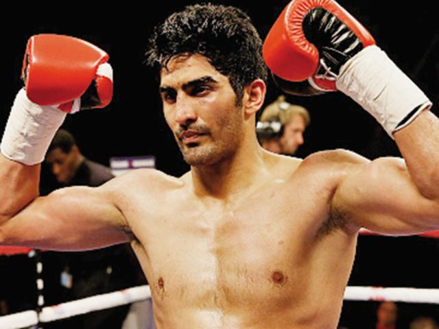 Francis Cheka is Vijender Singh's most experienced opponent to date and will prove a stern test for the big-hitting Indian boxer. Vijender currently has a record of seven out of seven wins including 6 knockouts.