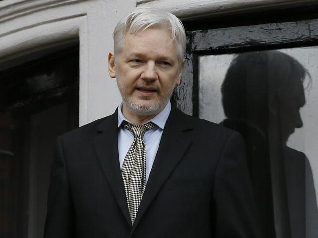 Swedish prosecutor Ingrid Isgren arrives at Ecuador's embassy to interview Julian Assange in London on Monday.