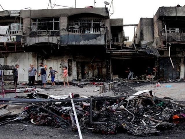 Iraq's Interior Ministry says a suicide attack south of Baghdad has killed at least six civilians.