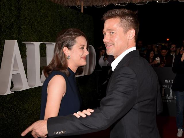 Marion Cotillard Thinks Her Allied Co Star Brad Pitt Is Such A