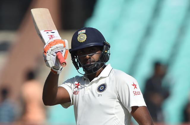 Ravichandran Ashwin played two good innings at crucial junctures in the drawn Rajkot Test.