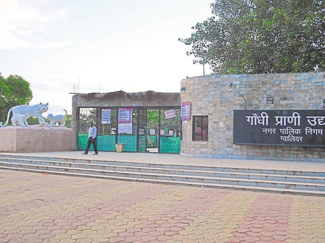 TheGwalior  Zoo was closed on October 22 last after the painted storks died of bird flu.
