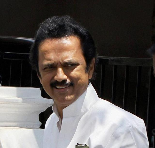 M.K. Stalin criticised Jayalalithaa for not expressing even words of comfort to people suffering cash crunch but focussing on their votes instead.