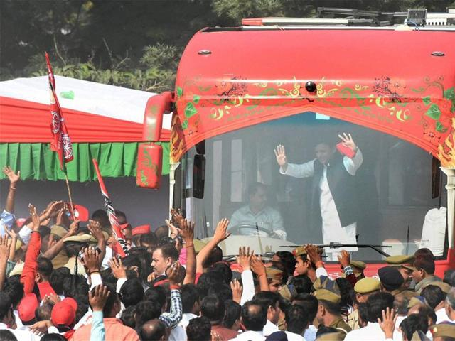 The second phase of chief minister Akhilesh Yadav's 'Vikas se Vijay Rath Yatra' was scheduled to start from Jhansi on Monday. but the Samajwadi Party is now reworking the dates for the second leg of the 'yatra' in Bundelkhand region of UP.