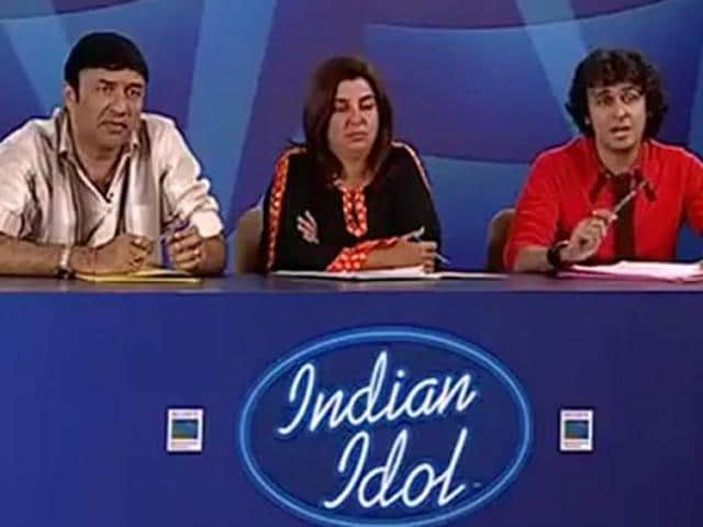 Anu Malik,Farah Khan,Sonu Nigam