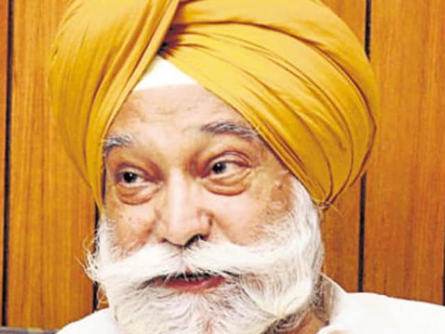 Former deputy speaker Bir Devinder Singh