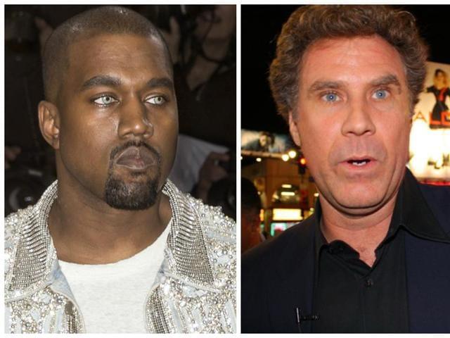 Kanye West,Will Ferrell,Kanye