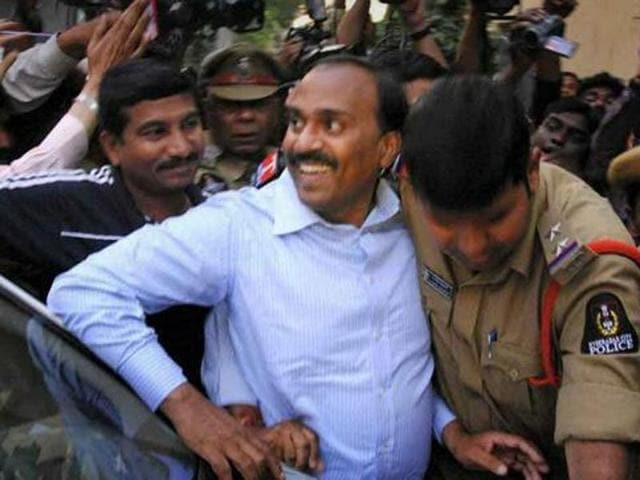 G Janardhan Reddy was a BJP member and state tourism minister before his arrest on graft charges. (PTI File Photo)