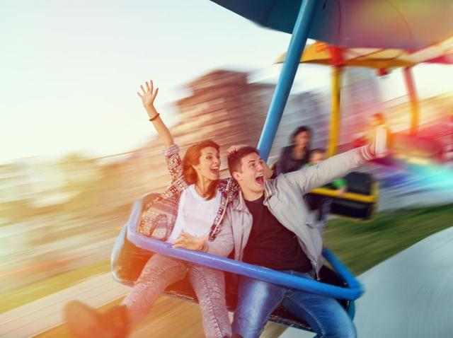 Amusement parks can make for a wonderful setting for a family day out.