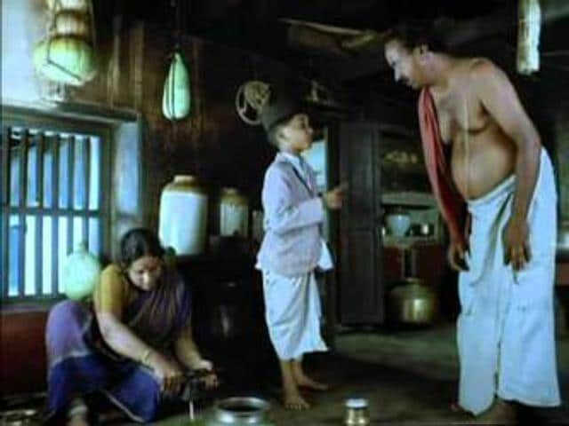 Swamy and friends. A scene from the TV serial Malgudi Days based on RK Narayan's stories. Like Narayan's Malgudi, Manu Bhattathiri's short fiction is set in the fictional south Indian village of Karuthupuzha