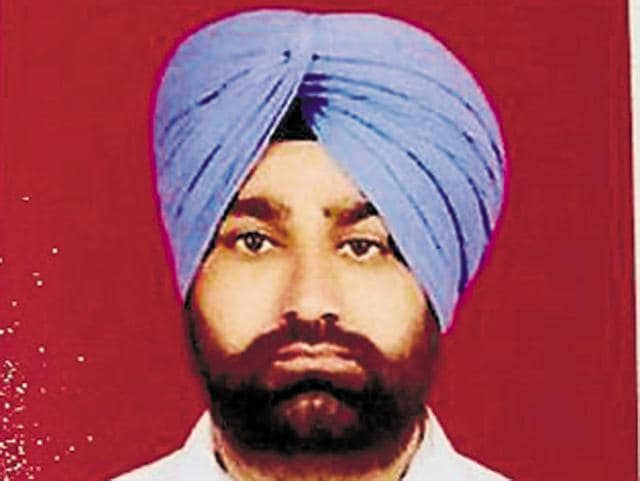 Photo of Beant Singh, 35, a retired army havaldar