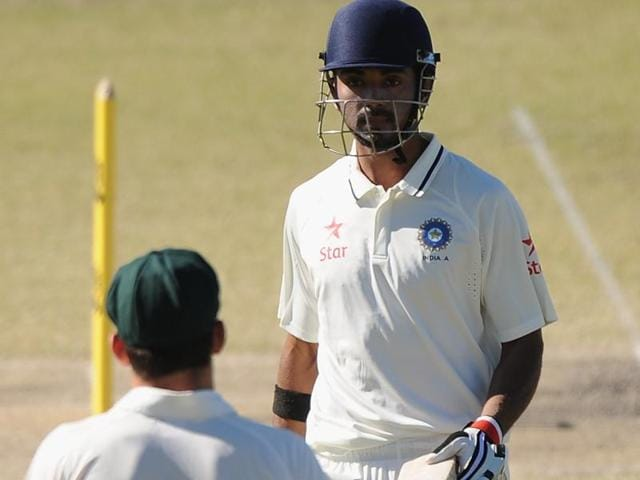 KL Rahul injured his hamstring during the New Zealand Test series.