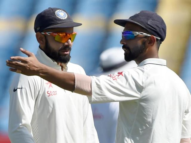 Ajinkya Rahane dropped England's captain Alastair Cook on the first morning of the Rajkot Test. In all India dropped five catches in the match.
