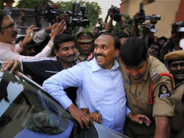 G Janardhan Reddy was a BJP member and state tourism minister before his arrest on graft charges.