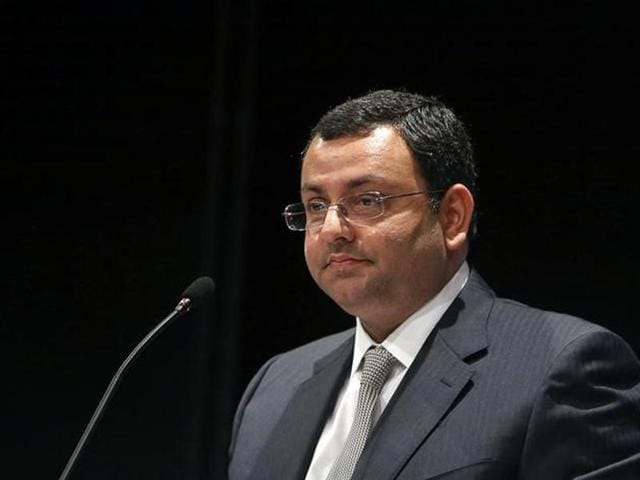 Cyrus Mistry Mistry was ousted last month as chairman of Tata Sons.