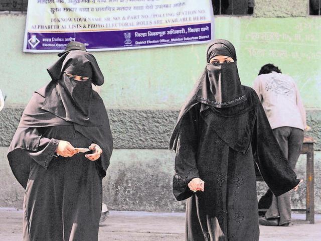 The plea sought a ban on wearing face veils including burqas, helmets, hoods etc at public places.