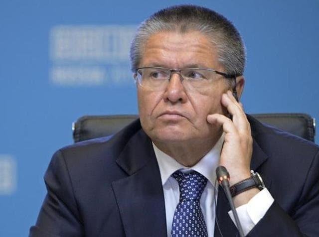 Russian Economy Minister Alexei Ulyukayev speaks during a news briefing at the Russia-ASEAN summit in Sochi, Russia.  He has been detained over an alleged $2 million (Rs 13.4 cr) bribe in an investigation.