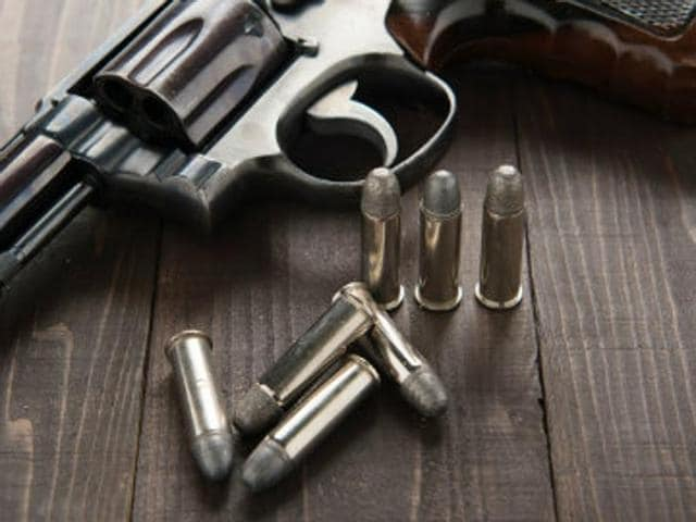 The retired army man, Mordhwaj Bhadauria, claimed the neighbour shot his son.