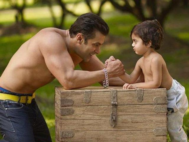 Salman Khan tweeted several cute pictures with kids to wish his fans a happy Children's Day.