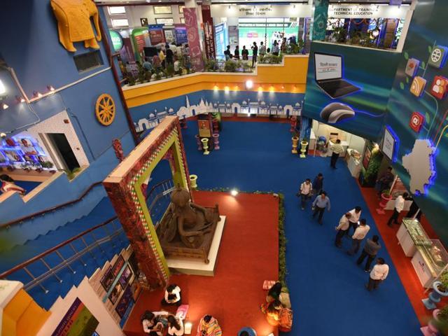 The India International Trade Fair opened on Monday at Pragati Maidan.