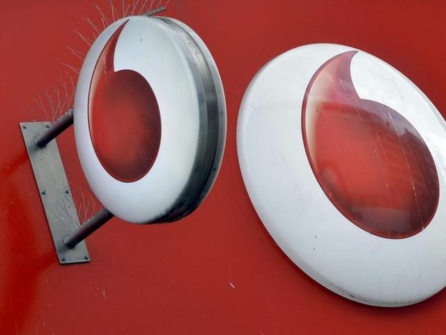 Vodafone's CEO said that the competition in India had intensified and was expected to hit its cash flow.