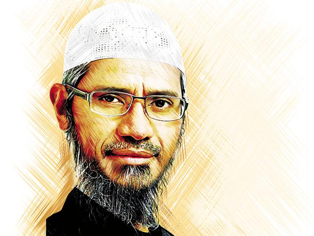 Zakir Naik has never been popular with the Sunni and Shia clergy in Mumbai(HT File Photo)