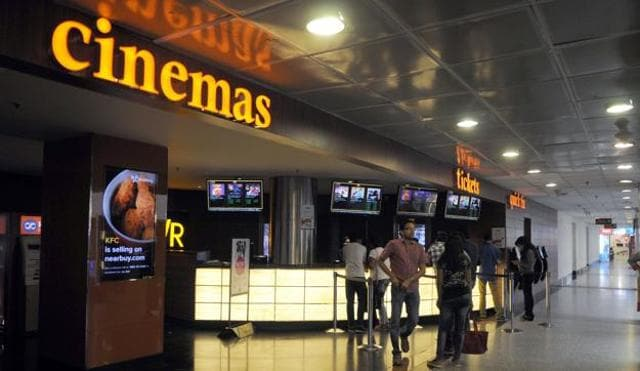 Cinema halls experience eerie silence; majority shows witness only 10% occupancy due to demonetisation.