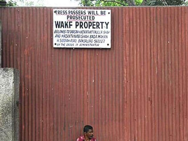 To ensure that Wakf properties are not misappropriated, the state revenue department in April this year had directed all the collectors to change title of Wakf land in the records as 'Wakf property — prohibited for any kind of transaction'.