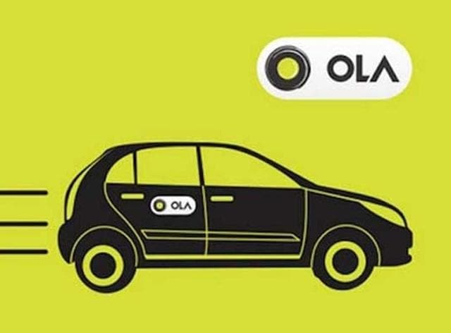 Ola,on-demand taxi services,Uber