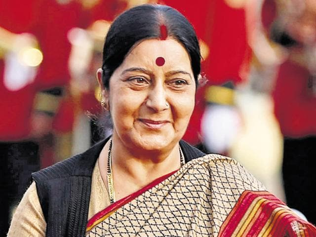 External affairs minister, Sushma Swaraj, has been in the hospital since November 7, 2016.