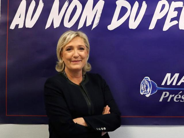 Far-right leader Marine Le Pen is convinced that her anti-immigration, anti-Islam views can lead her to the presidency in five months.