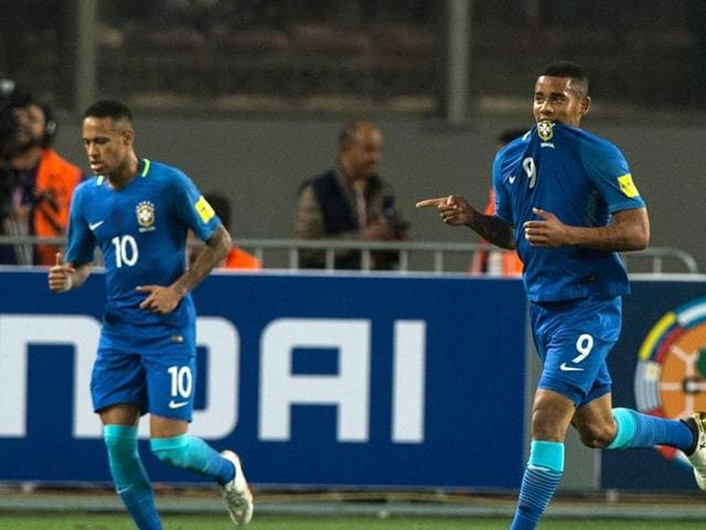Brazil secured their sixth consecutive win in the World Cup qualifiers, thus remaining the only unbeaten side in the competiton.