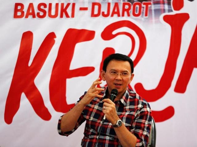 Basuki Tjahaja Purnama was formally named a suspect on blasphemy allegations November 16, after claims that he insulted Islam sparked a violent mass protest by Muslim hardliners in Jakarta.