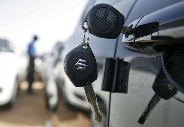 Enquiries for used cars in south Delhi have gone down by 80%.(REUTERS)