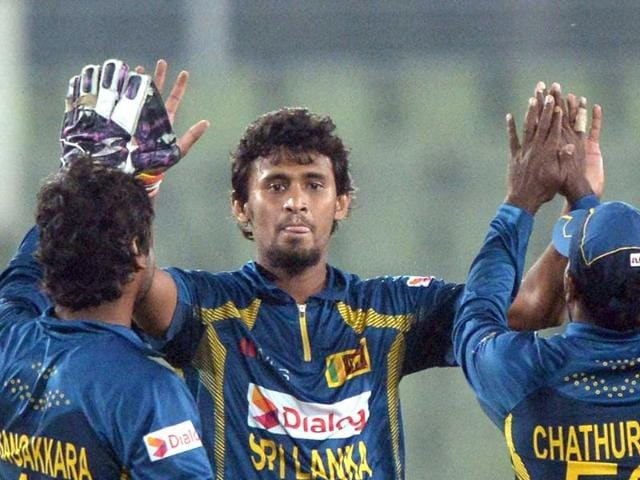 Sri Lanka won their first match against Zimbabwe in the tri-series.