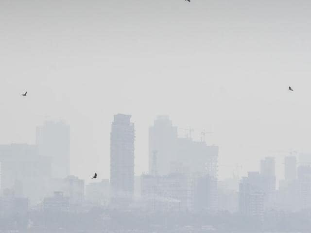 Researchers attributed the rise in pollution to a drop in overnight wind speed.