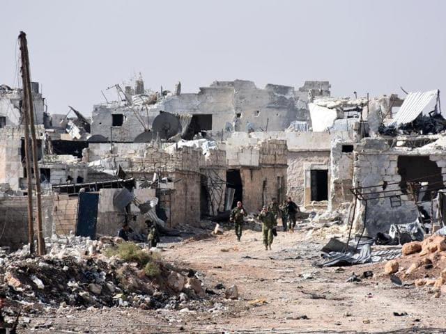 Aleppo,Islamic State,Syria