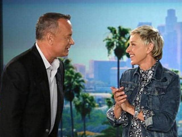 Tom Hanks,Ellen DeGeneres,Barack Obama